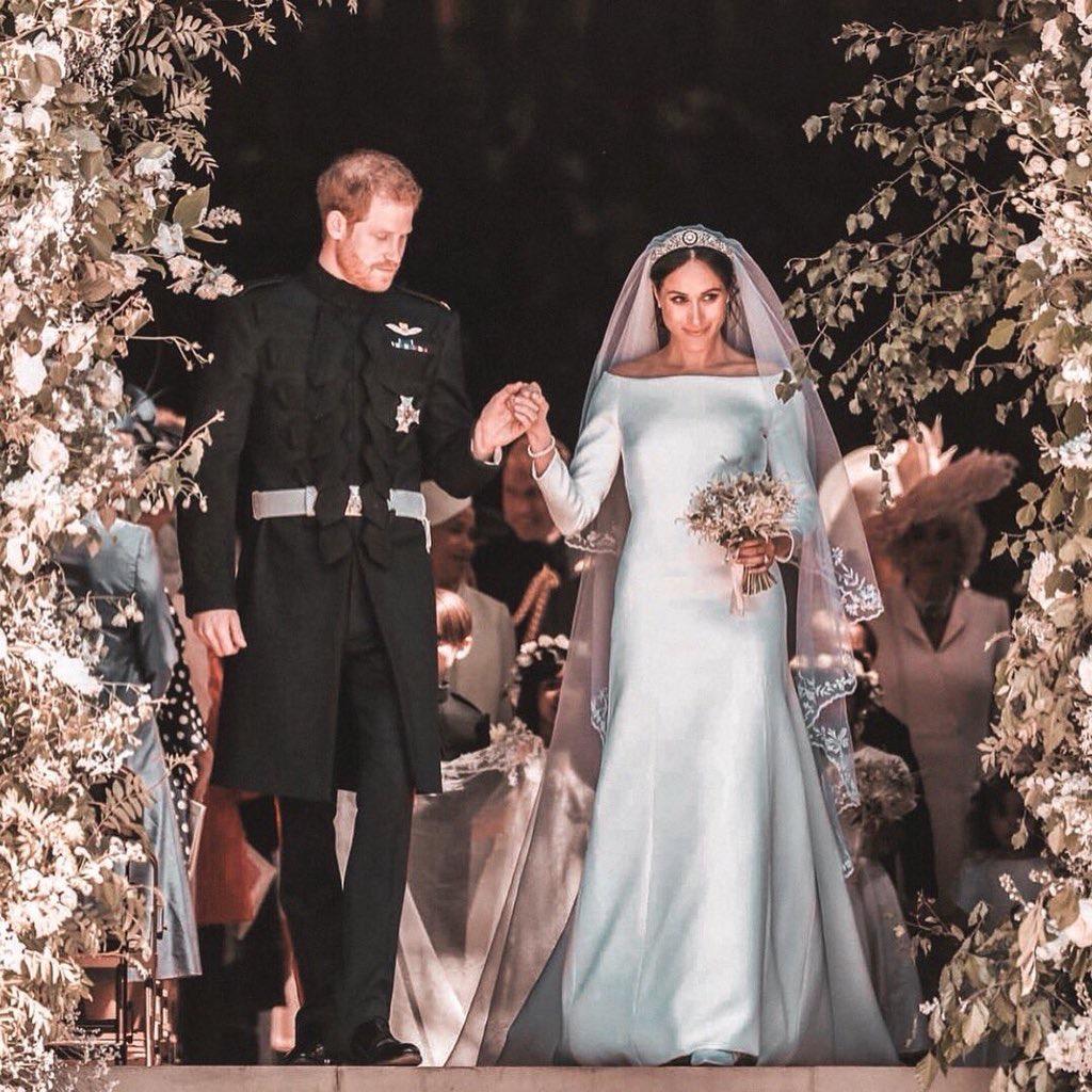 royal wedding, prince harry, and meghan markle image