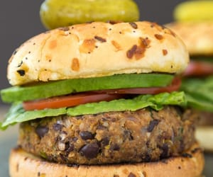 burger, food, and recipe image