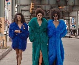 fashion, baddies, and fur coat image