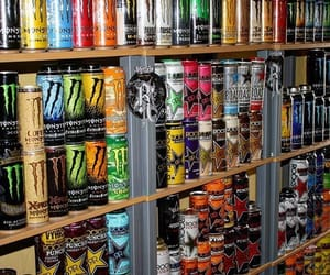 can, grunge, and energy drinks image