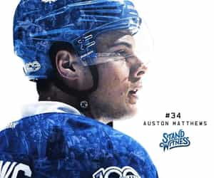 hockey, maple leafs, and Ice Hockey image