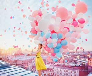 amazing, happy, and balloons image