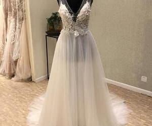 prom dress and bridal dress image