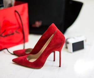 chic, shoes, and color image