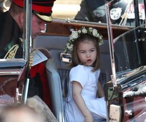 royal wedding and princess charlotte image