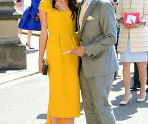 outfit and amal clooney image