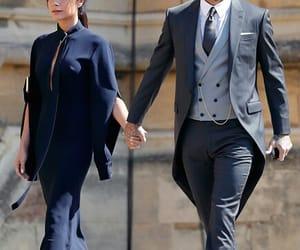 David Beckham and royal wedding image