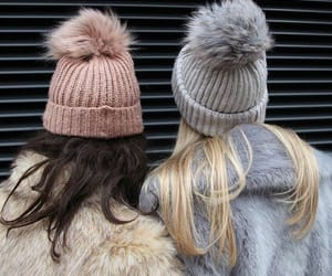 winter, style, and friends image