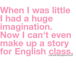 english, imagination, and text image