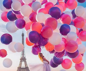 colors, purple, and parís image