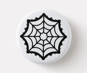 black, goth, and button image
