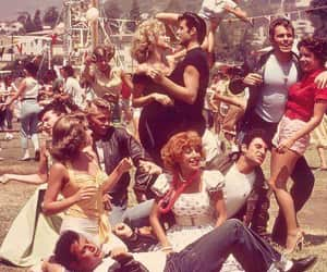 grease, movie, and vintage image