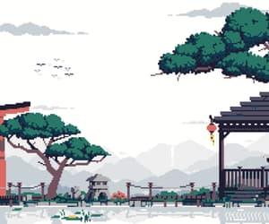 art, gif, and japan image