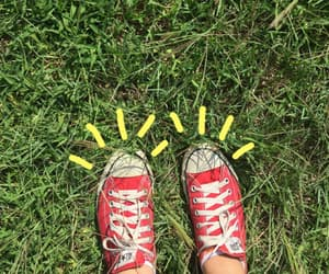 grass, green, and converse image