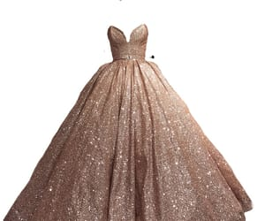 ballgown, clothes, and dress image