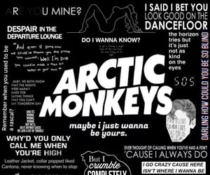 am, arctic monkeys, and art image