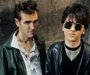 johnny marr, morrissey, and the smiths image