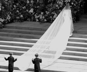 royal wedding, dress, and meghan image