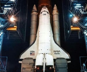 nasa, love, and Space Shuttle image