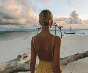 girl, fashion, and wanderlust image