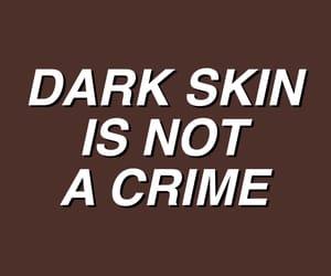 melanin, quotes, and dark skin image