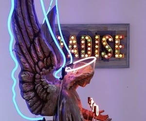 angel and neon image