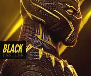 black panther, Marvel, and photography image