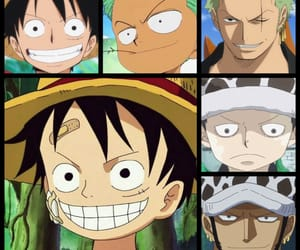 Law, one piece, and zoro image