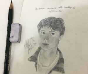 boy, british, and freckles image