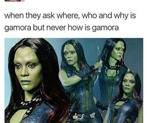 Avengers, Marvel, and gamora image
