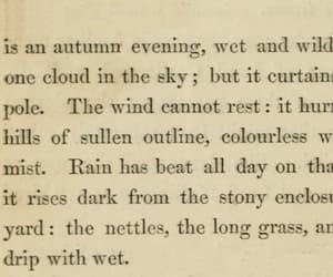 autumn, books, and charlotte bronte image