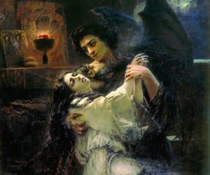 art, konstantin makovsky, and demon image