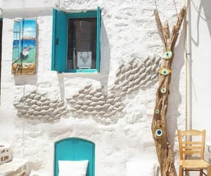 aesthetic, chair, and Greece image
