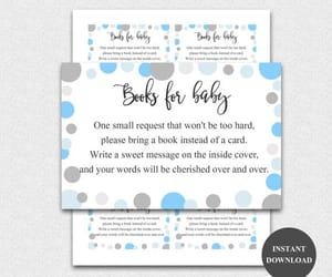 etsy, boy baby shower, and books for baby image
