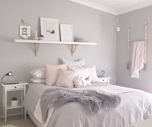 room, decoration, and grey image