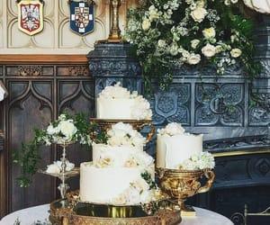cake, royal, and royal wedding image