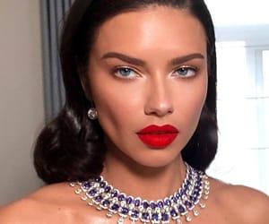 Adriana Lima and makeup image