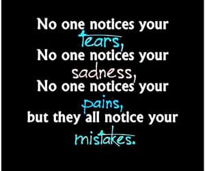 mistakes, tears, and sadness image