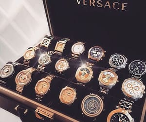 luxury, rich, and Versace image
