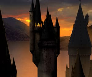 harry potter, hogwarts, and astronomy tower image