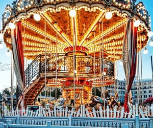 beauty, carousel, and city image