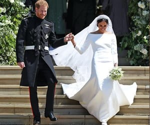 prince harry, royal wedding, and meghan markle image