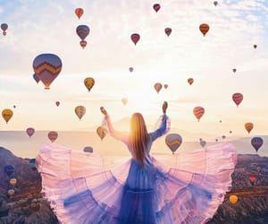 baloons, Dream, and dress image