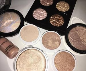 beauty, highlighter, and girl image