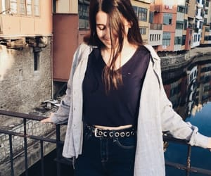 brunette, inspo, and outfit image