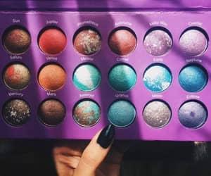 makeup, planet, and make up image