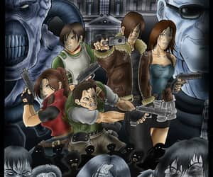 art, survival, and resident evil image