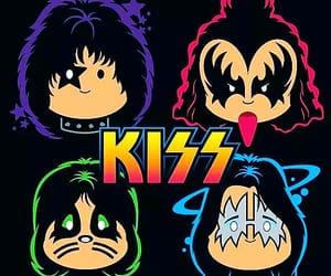 art, kiss, and band image