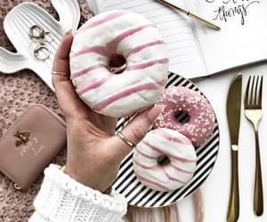 donuts, food, and fois image