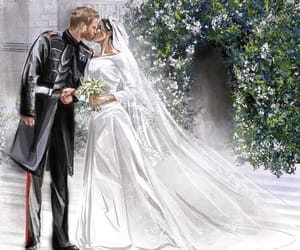 prince harry, royal wedding, and wedding image